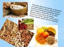 Тому роль даного вуглеводу в харчуванні ні в якому разі не можна недооцінюват...