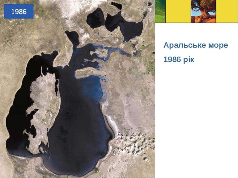 Аральське море 1986 рік