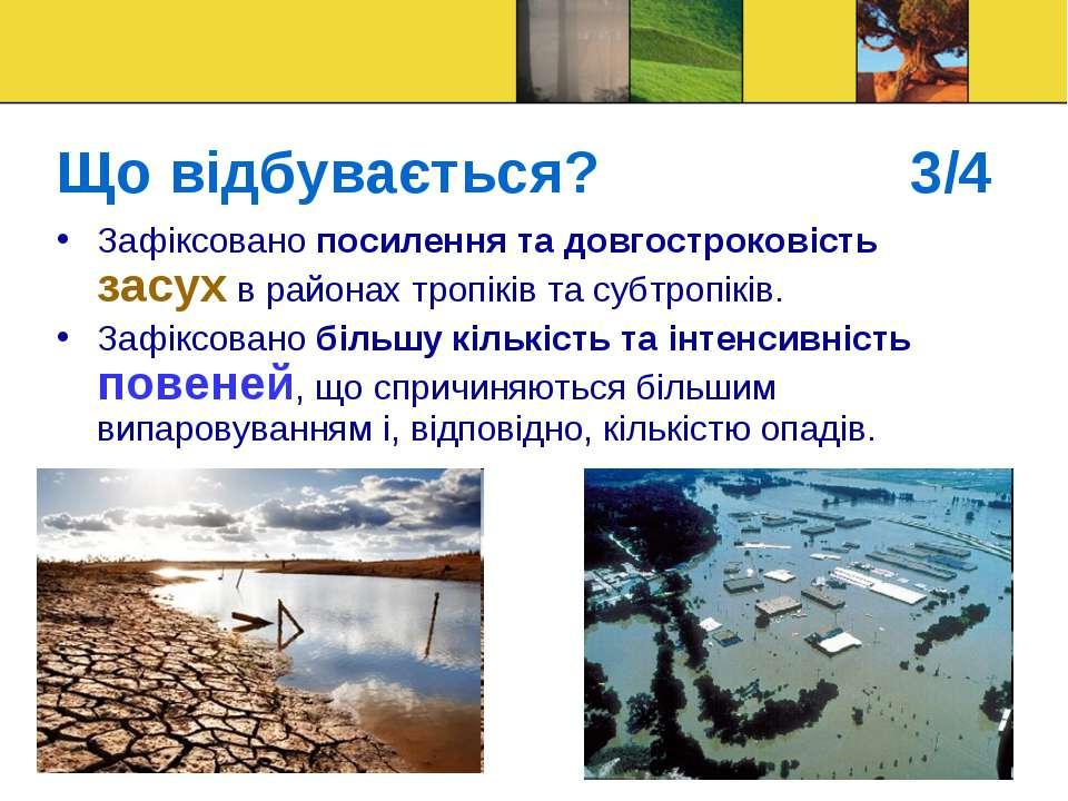 Що відбувається? 3/4 Зафіксовано посилення та довгостроковість засух в района...