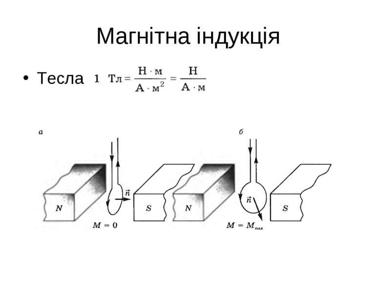 Магнітна індукція Тесла