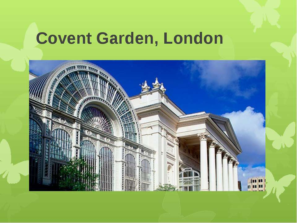 Covent Garden, London