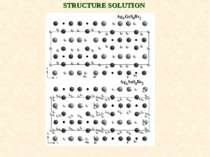 STRUCTURE SOLUTION