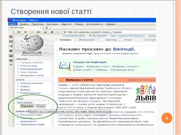 Створення нової статті 8 http://apitu.org.ua