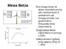 Межа Betzа Всю владу вітру не може захопити ротор або повітря було б цілком в...
