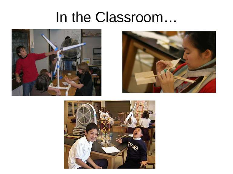 In the Classroom…