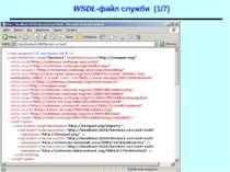 WSDL-файл служби (1/7) WCF
