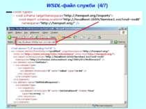 WSDL-файл служби (4/7) WCF