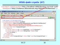 WSDL-файл служби (6/7) WCF