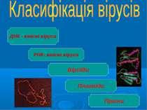 РНК- вмісні віруси Віроїди Плазміди Пріони ДНК - вмісні віруси