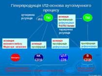 Гіперпродукція ІЛ2-основа аутоімунного процесу Th1 Th2 Моноциты NK CD16 ЦТЛ C...