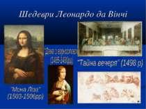 Шедеври Леонардо да Вінчі