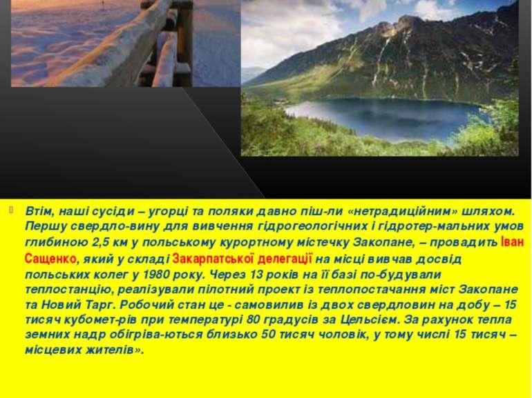Втім, наші сусіди – угорці та поляки давно піш-ли «нетрадиційним» шляхом. Пер...