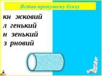книжковий легенький низенький зерновий Встав пропущену букву