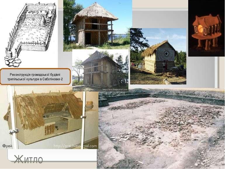 Житло Реконструкція громадської будівлі трипільської культури в Саботіновке-2
