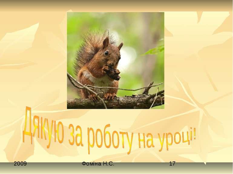 Фоміна Н.С.