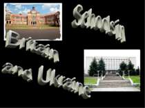 Schools in Britain and Ukraine