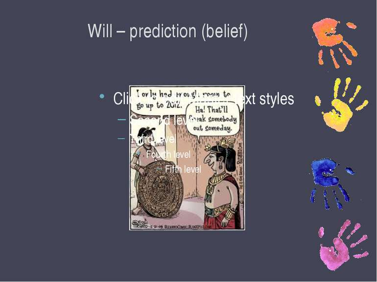 Will – prediction (belief)
