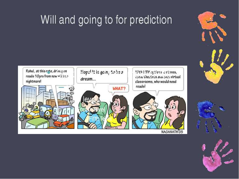 Will and going to for prediction