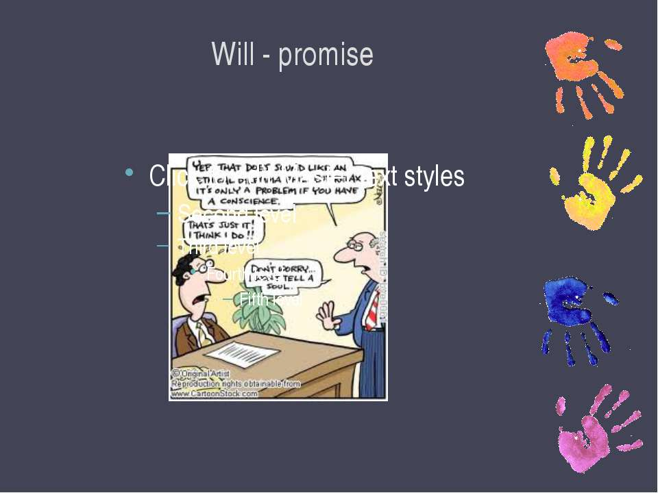 Will - promise