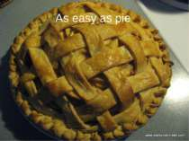 As easy as pie