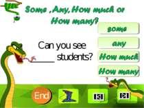 Can you see _____ students? 10 9 8 7 6 5 4 3 2 1 End Clique para editar o est...