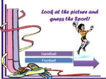 Try Again Great Job! Football Handball