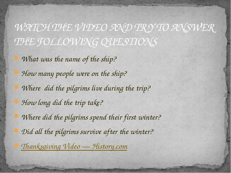 What was the name of the ship? How many people were on the ship? Where did th...