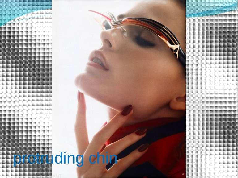 protruding chin