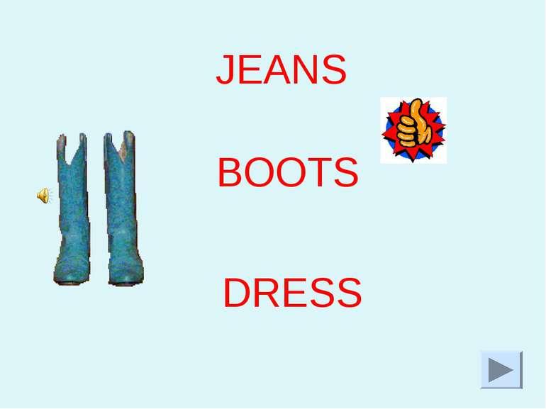 JEANS BOOTS DRESS