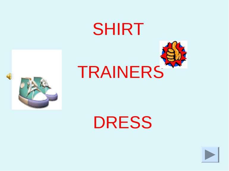 SHIRT TRAINERS DRESS