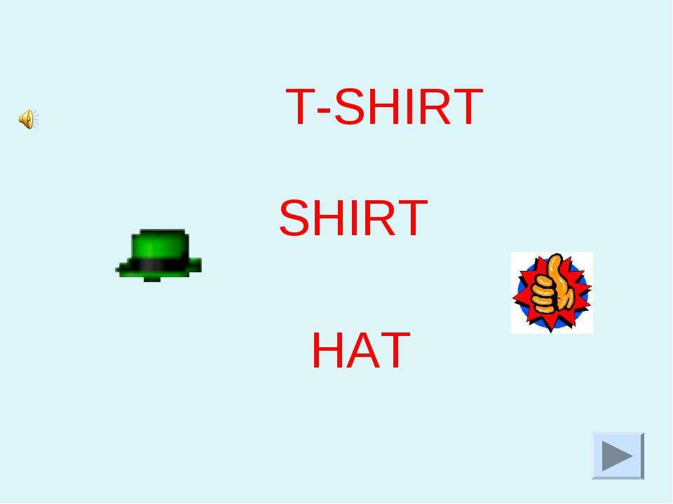 T-SHIRT HAT SHIRT