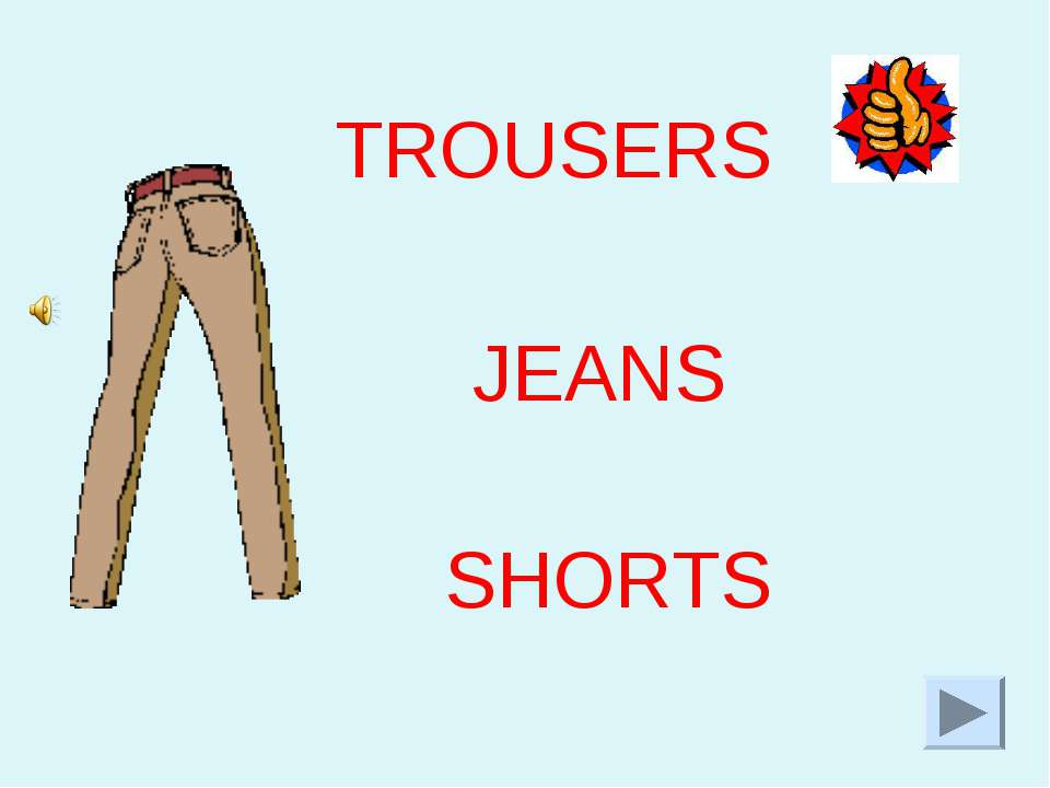 SHORTS TROUSERS JEANS