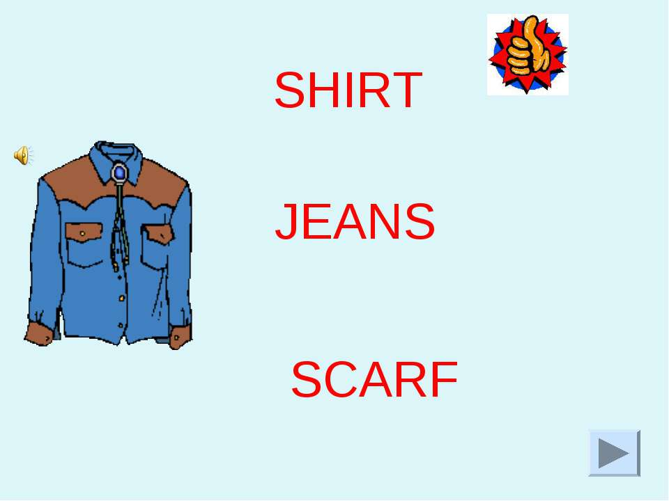 JEANS SHIRT SCARF
