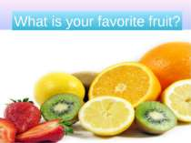 favorite-fruits