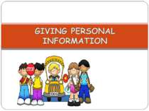 giving-personal-information