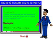 It is also used to: -describe two actions that were both continuing at the sa...