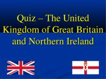 Quiz – The United Kingdom of Great Britain and Northern Ireland