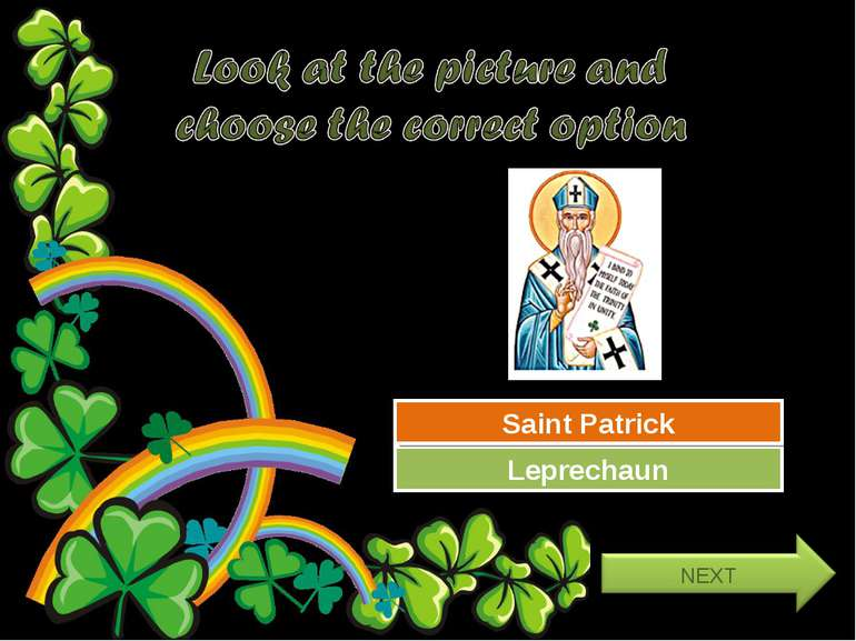 Try Again Great Job! Leprechaun Saint Patrick