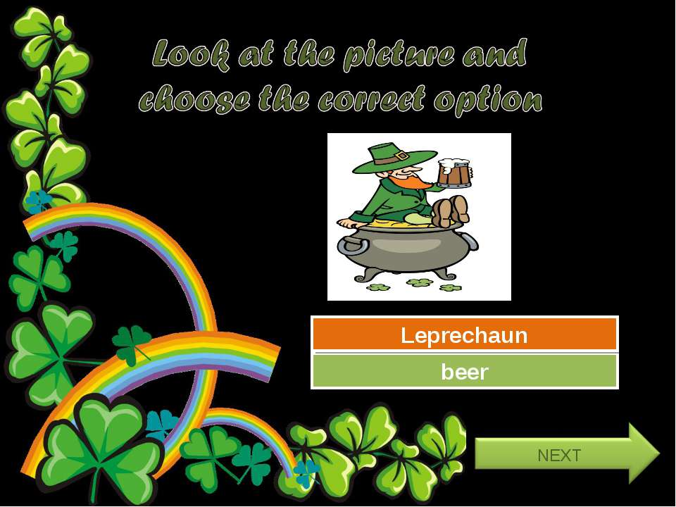 Try Again Great Job! beer Leprechaun