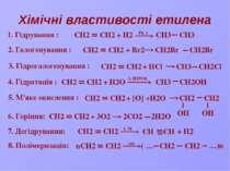 Застосування О СН2 Н2С Оксид этилена Уксусная кислота Ацетальдегид Этанол Бут...