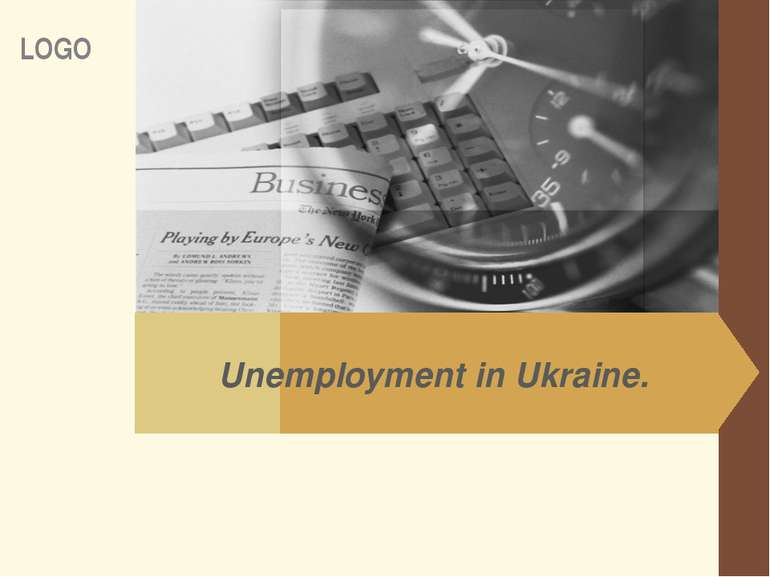 Unemployment in Ukraine. LOGO www.themegallery.com