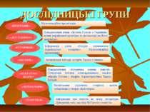 ДОСЛІДНИЦЬКІ ГРУПИ Мультимедійна презентація Повідомлення учнів «Зв'язок Гого...
