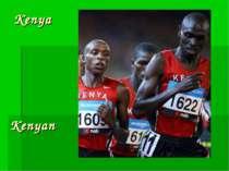 Kenya Kenyan