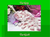 Turkey Turkish