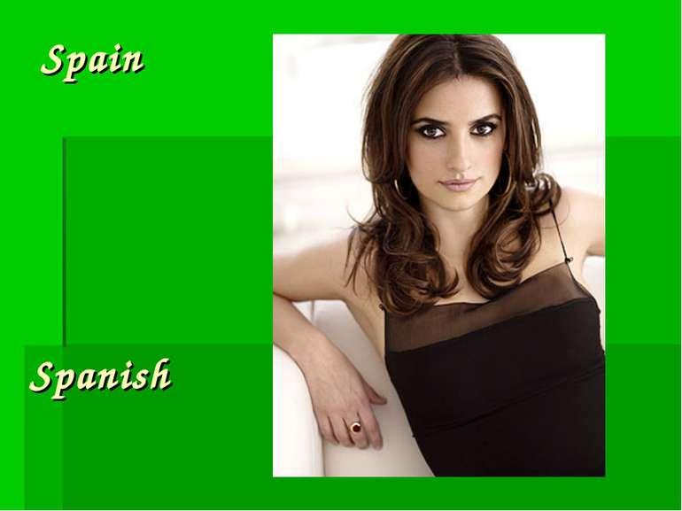 Spain Spanish