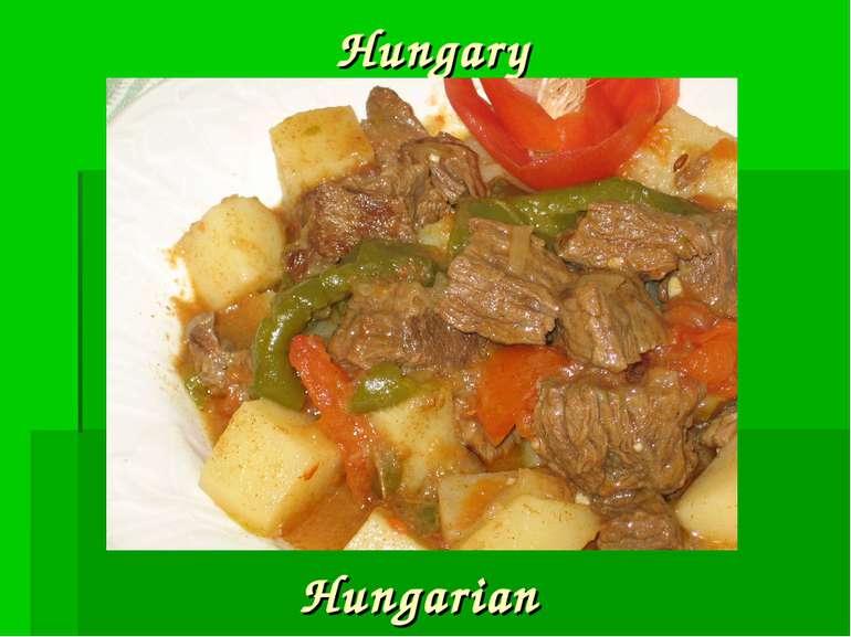 Hungary Hungarian