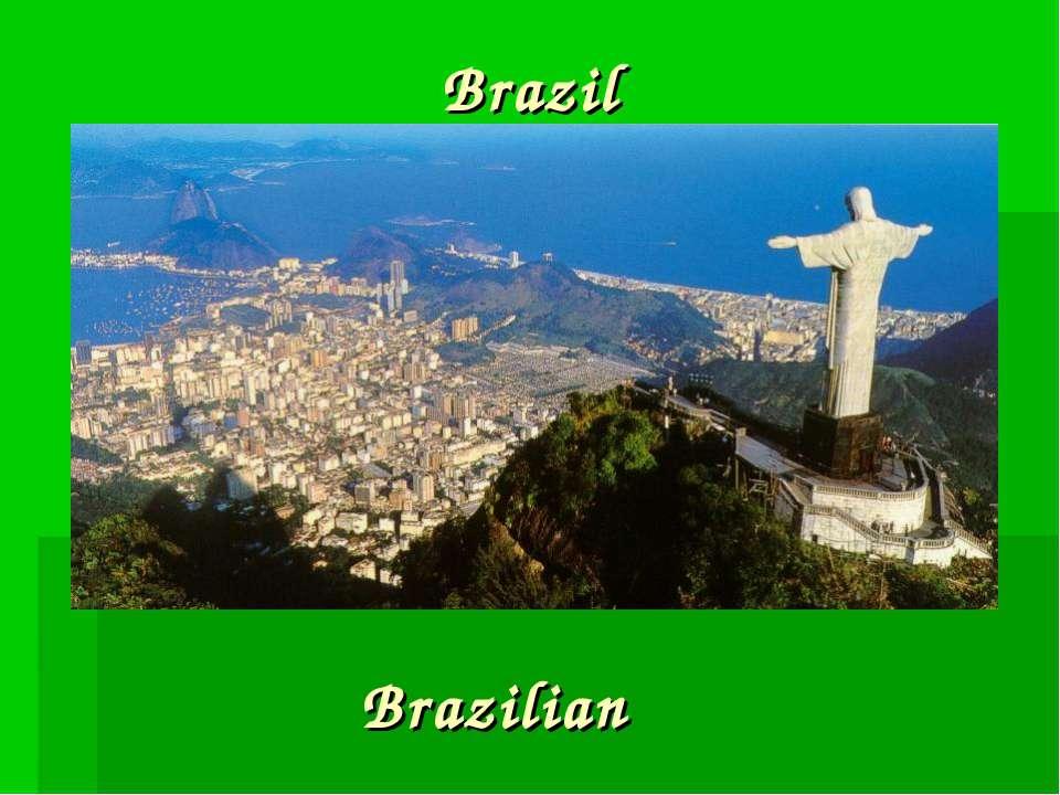 Brazil Brazilian