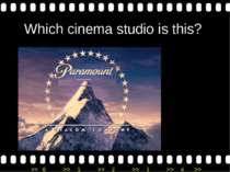 Which cinema studio is this? >> 0 >> 1 >> 2 >> 3 >> 4 >>