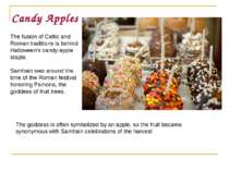 Candy Apples The fusion of Celtic and Roman traditions is behind Halloween's ...