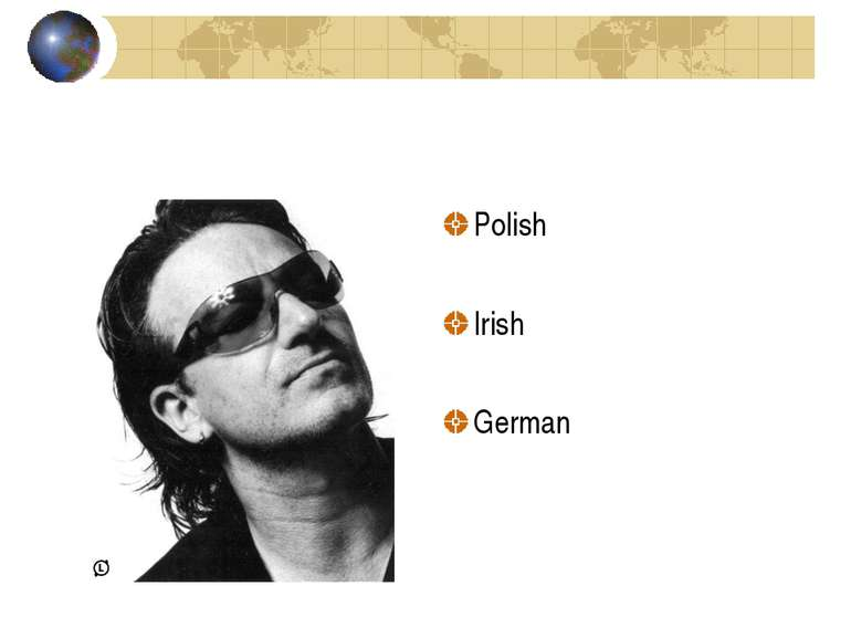 Polish Irish German